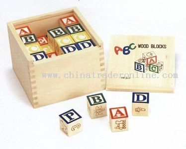 48 PCS ABC BLOCKS IN BOX from China