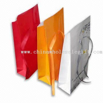 Paper Gift Bags with Christmas Theme Model No.:CWSG31273