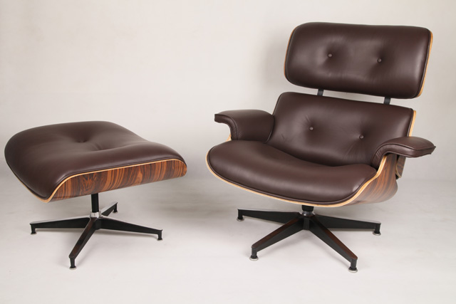 Lounge Stoel Eames.The Eames Lounge Chair Eames Lounge Chair Replica Vitra Black