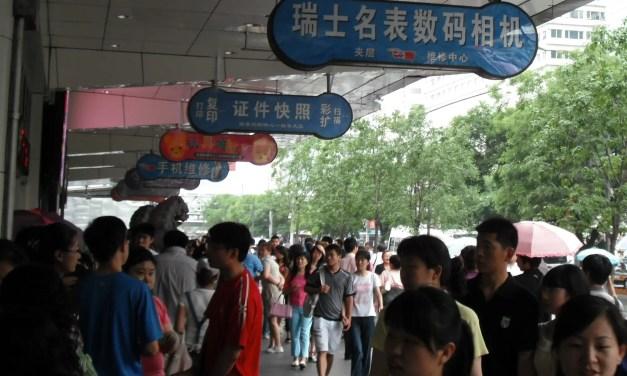 Les consommateurs chinois privilégient les produits d'hygiène