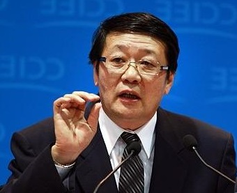 Lou Jiwei, ministre des finances