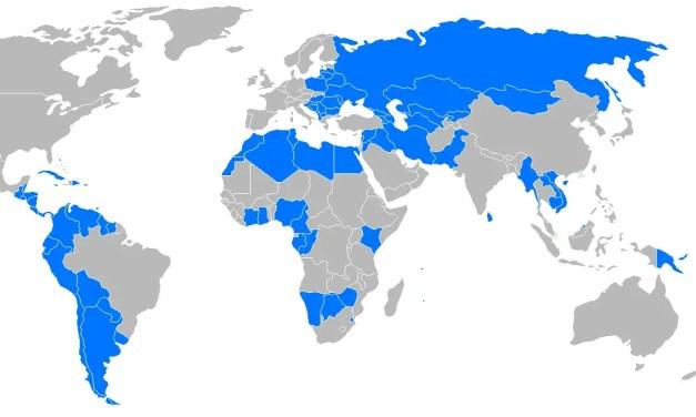Ralentissement de l'activité des pays émergents