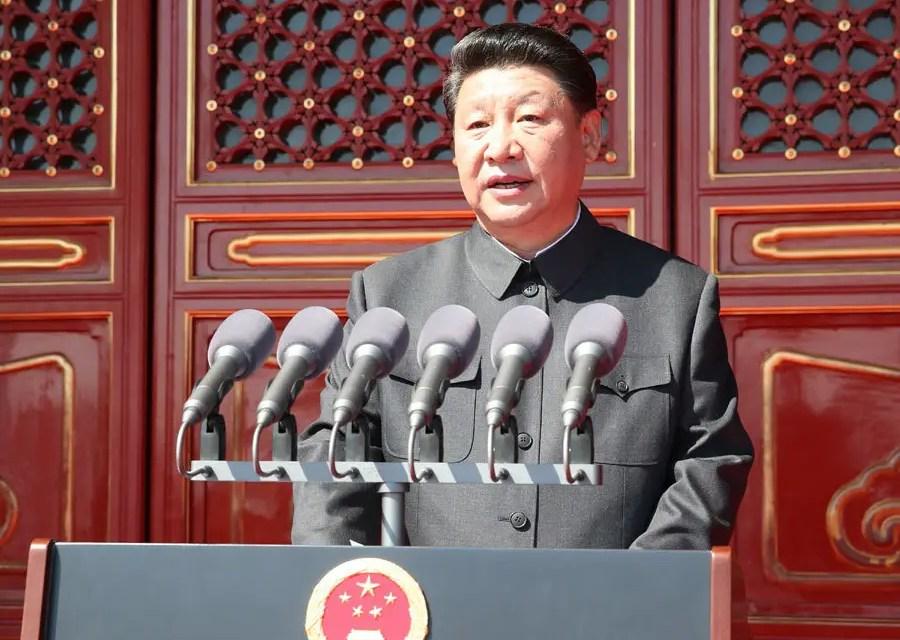 Préparation du défilé militaire pour les 70 ans de la RPC