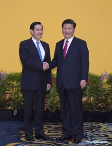 L'entente cordiale mise à rude épreuve. Les présidents Ma Ying Jeou et Xi Jinping