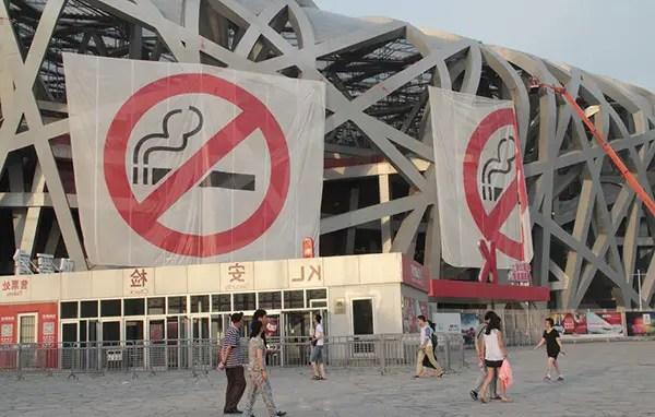 Journée mondiale sans tabac : les chinois mauvais élèves