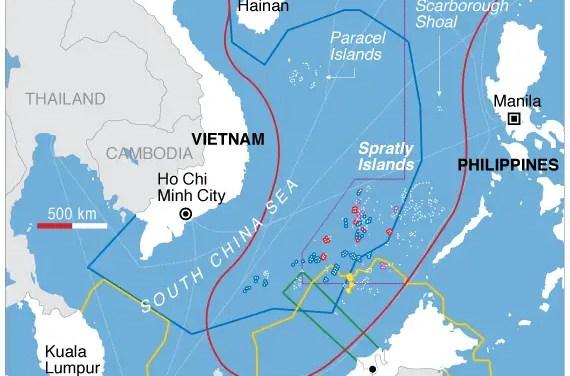 Des bombardiers américains survolent les mers de Chine