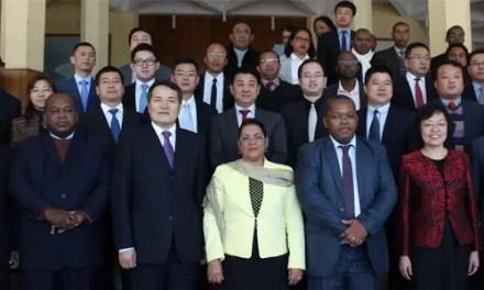 Béatrice Atallah en Chine pour la mise en place du FOCAC 2015