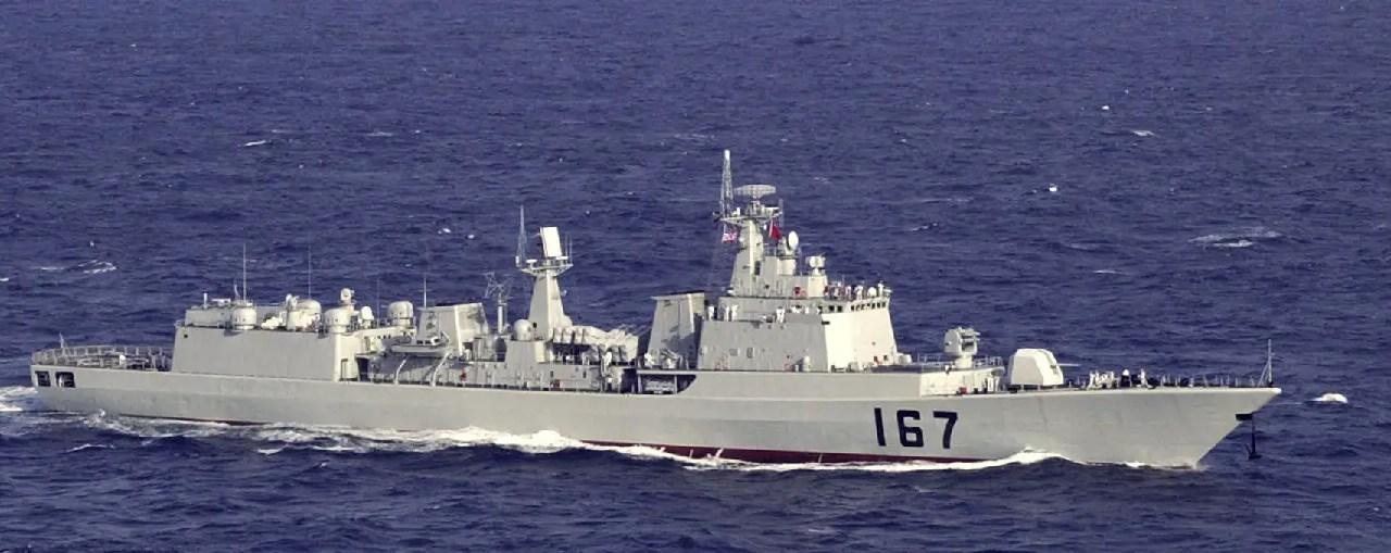 Test de l'arme la plus puissante de la Marine chinoise