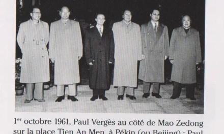 Paul Vergès, précurseur des relations sino-réunionnaises s'en est allé