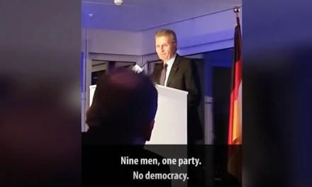 Revirement. Günther Oettinger s'excuse auprès de la Chine