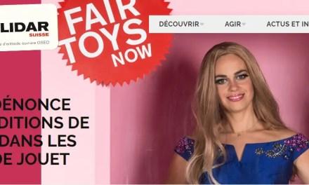 Barbie dénonce les conditions de travail dans les usines de jouet