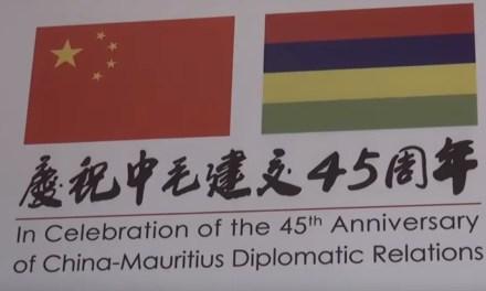 45 années de coopérations sino-mauriciennes célébrées