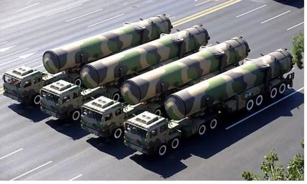 Un nouveau missile intercontinental mer-sol chinois repéré