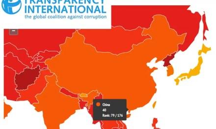 La Chine peut mieux faire contre la corruption