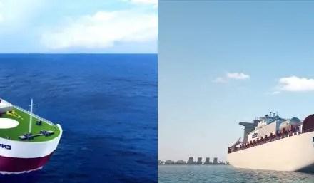 Construction de la première centrale nucléaire flottante
