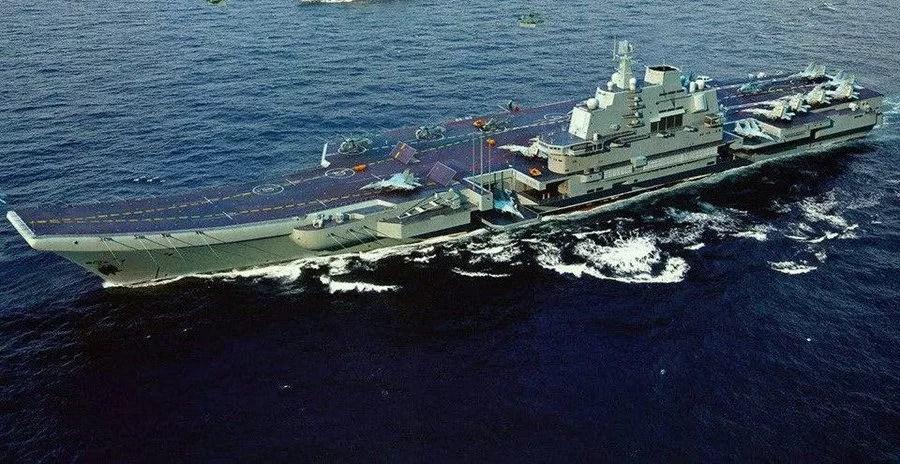 Le porte-avions Liaoning pour la première fois à Hong Kong