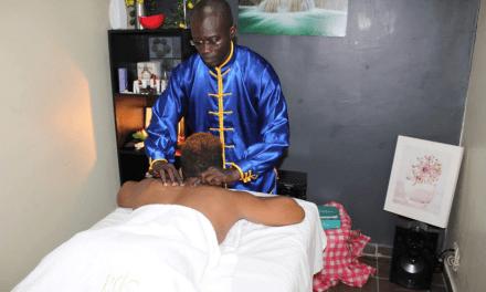 Découverte du massage méridien au 100% Fitness d'Abidjan