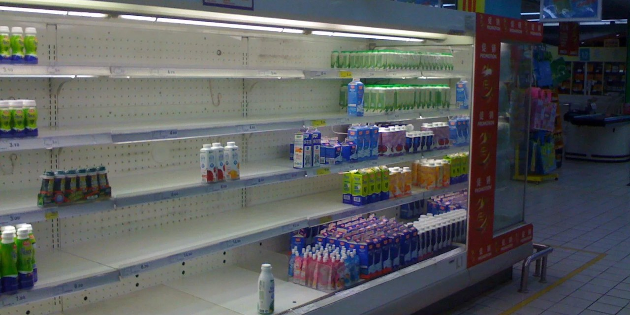Hausse des importations de lait en perspectives