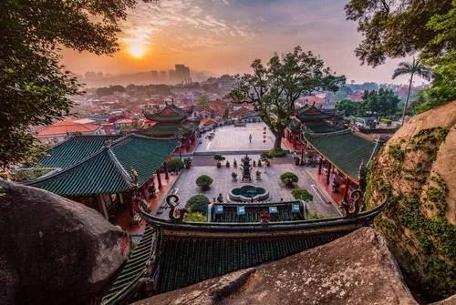 Kulangsu, site culturel inscrit à l'UNESCO