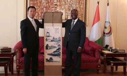 Alassane OUATTARA a rencontré le président de Powerchina