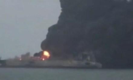 La pire marée noire du monde en mer de Chine