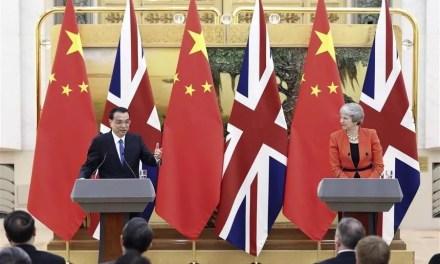 Londres dans le collimateur de la Chine