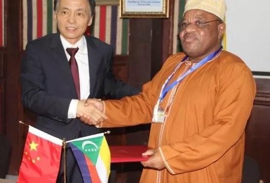 La Chine fait un don de plus de 6 milliards aux Comores