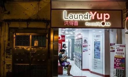 Les Hongkongais vivent dans leur laverie automatique