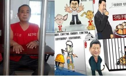 RSF : un caricaturiste condamné à 6 ans et demi en prison