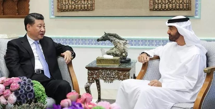 Accords commerciaux signés entre la Chine et les Emirats arabe