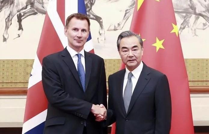 Accord post-Brexit en discussion entre Beijing et Londres