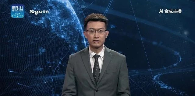 Xinhua présente ses présentateurs robots
