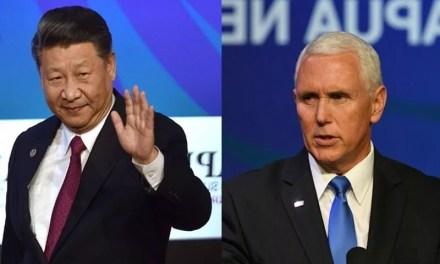 Mike Pence a rencontré Xi Jinping