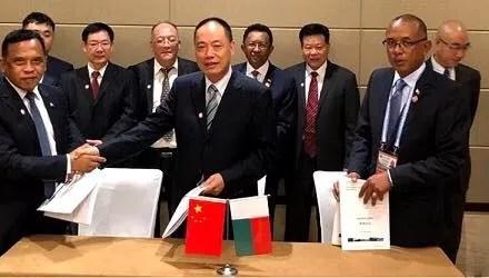 Signature de plusieurs accords entre la Chine et Madagascar