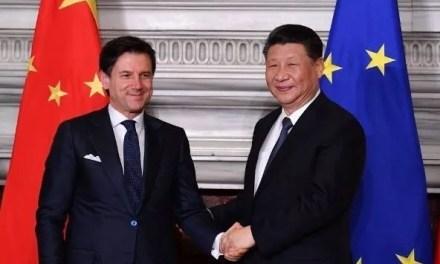 La Chine et l'Italie signent un protocole d'accord