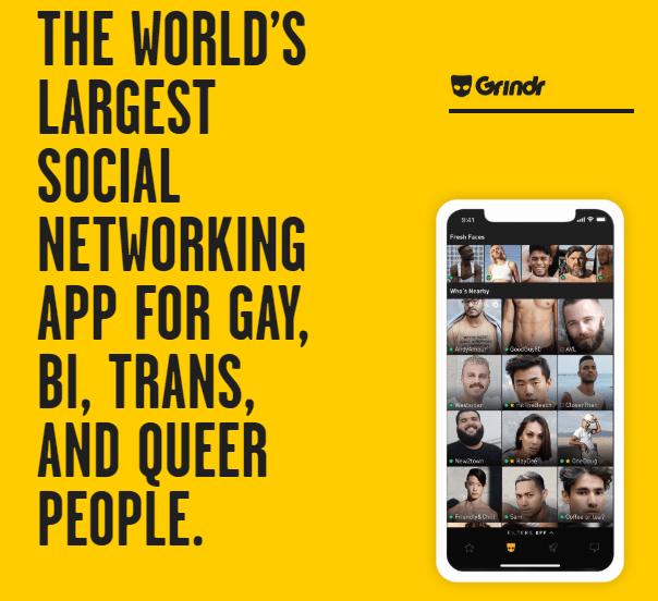 L'application de rencontre gay, Grindr, sera revendu