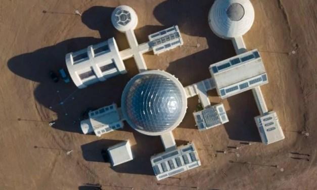 Ouverture d'une base de simulation sur Mars au Qinghai