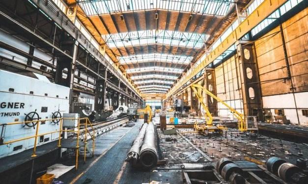 La croissance de la production industrielle au plus bas depuis 17 ans