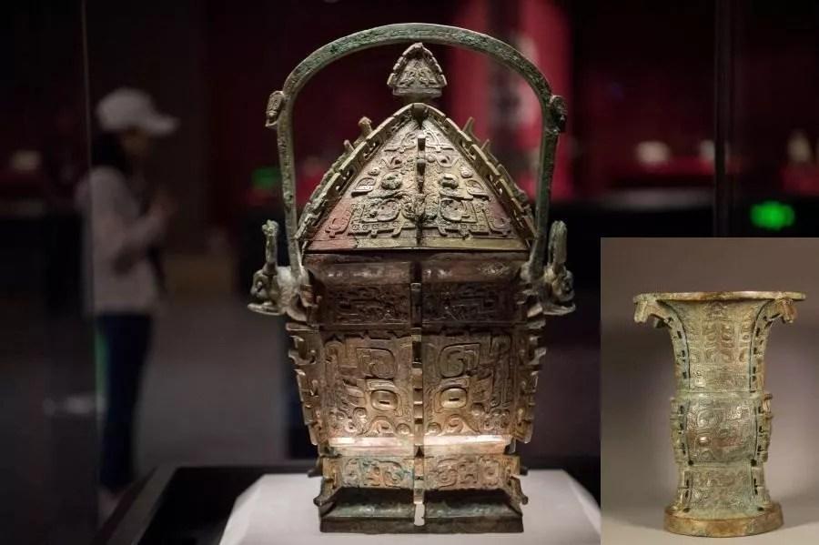 Deux bronzes des Zhou de l'Ouest retourne au Shanxi