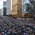 Washington et Hong Kong s'opposent