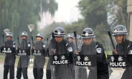 Manifestation Hong Kong : Exercice anti-émeutes à Shenzhen