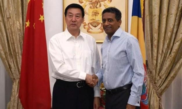 Wang Yong a rencontré le président des Seychelles Danny Faure