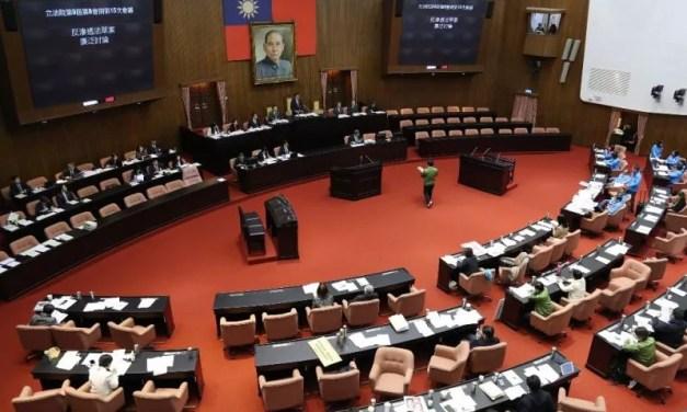 Beijing rejette les deux proposition de référendum constitutionnel à Taïwan