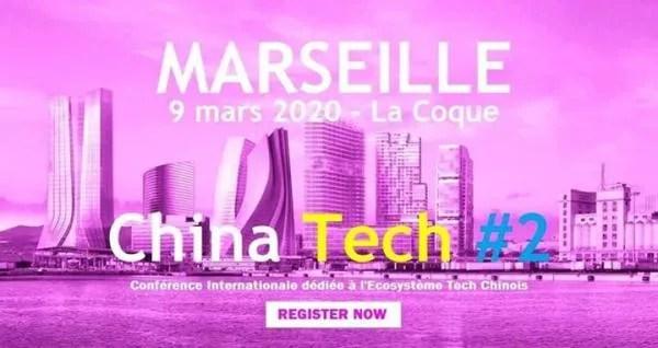 Conférence China Tech à Marseille le 9 mars