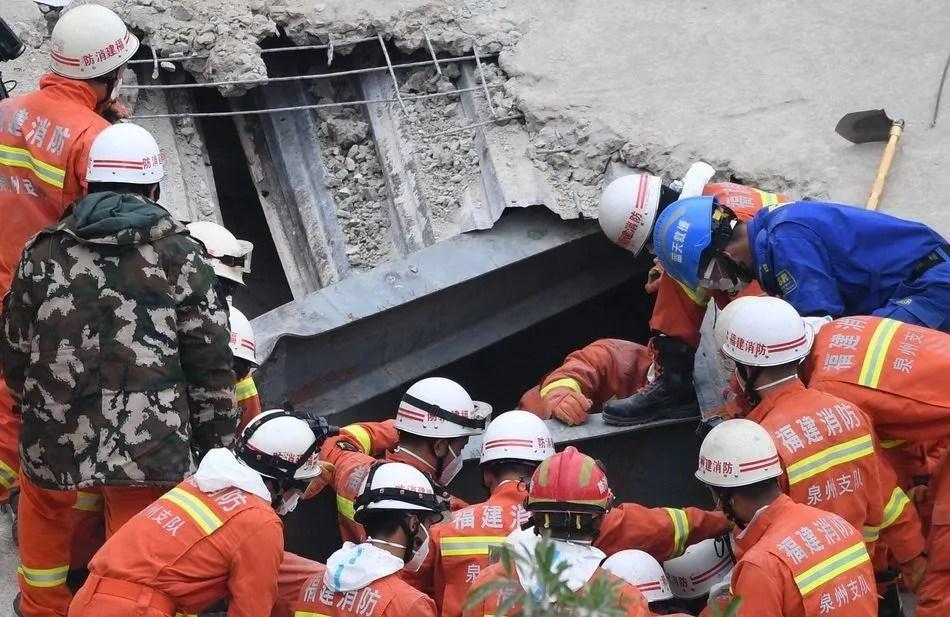 13 morts et 71 disparus à Quanzhou
