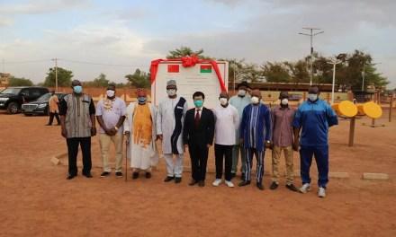 La Chine offre un parc de fitness à la commune de Ouagadougou