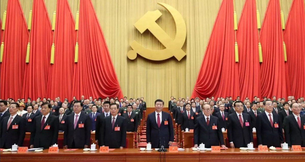 1921-2020, pour « le grand renouveau de la Nation Chinoise »