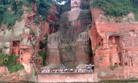 Le Grand Bouddha de Leshan menacé par des inondations