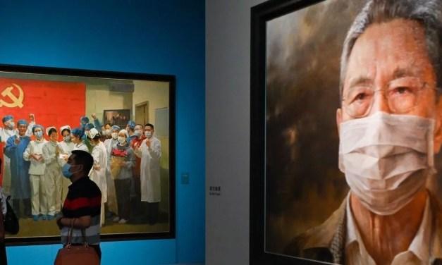 La Chine fait entrer le Covid-19 au musée