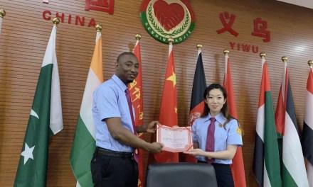 Ababacar Niang, médiateur au bureau international de médiation de Yiwu